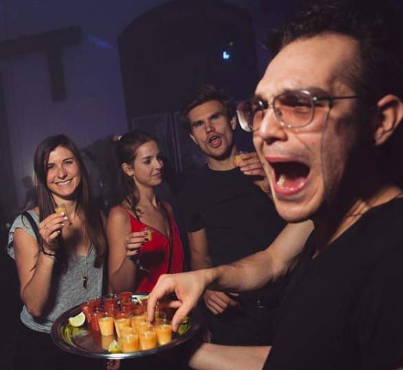 sober sensation party berlin