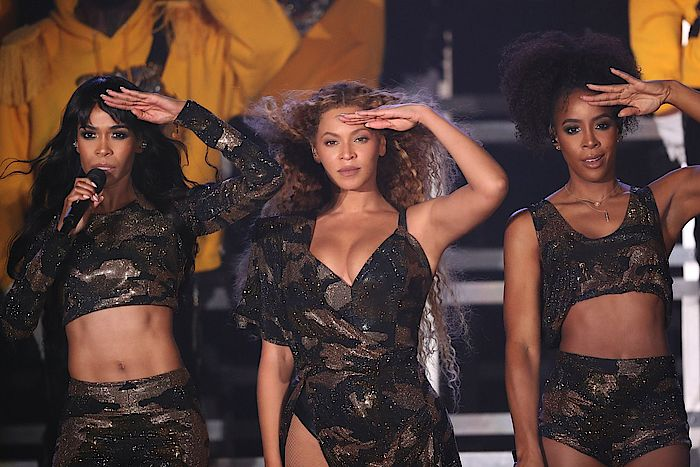 Destiny's Child auf dem Coachella