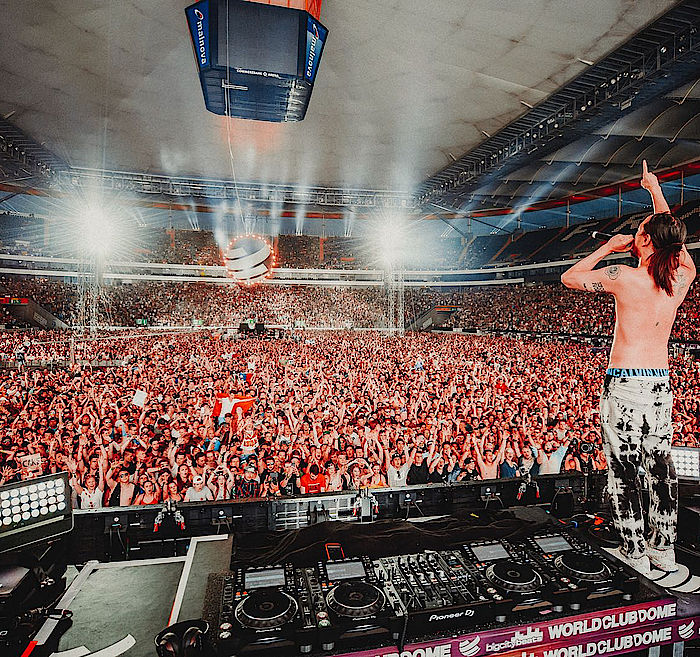 Steve Aoki beim World Club Dome 2018