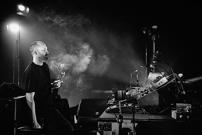 Paul Kalkbrenner on stage