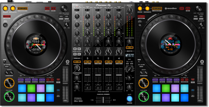 Pioneer DDJ 1000 Controller DJ MAG Review