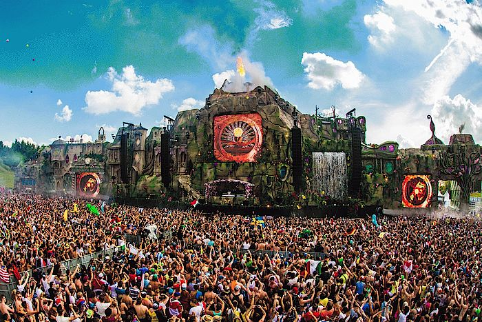 Tomorrowland Mainstage 2013