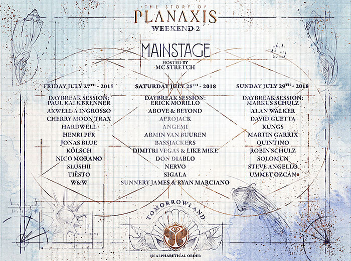 Tomorrowland 2018 MainStage WE1