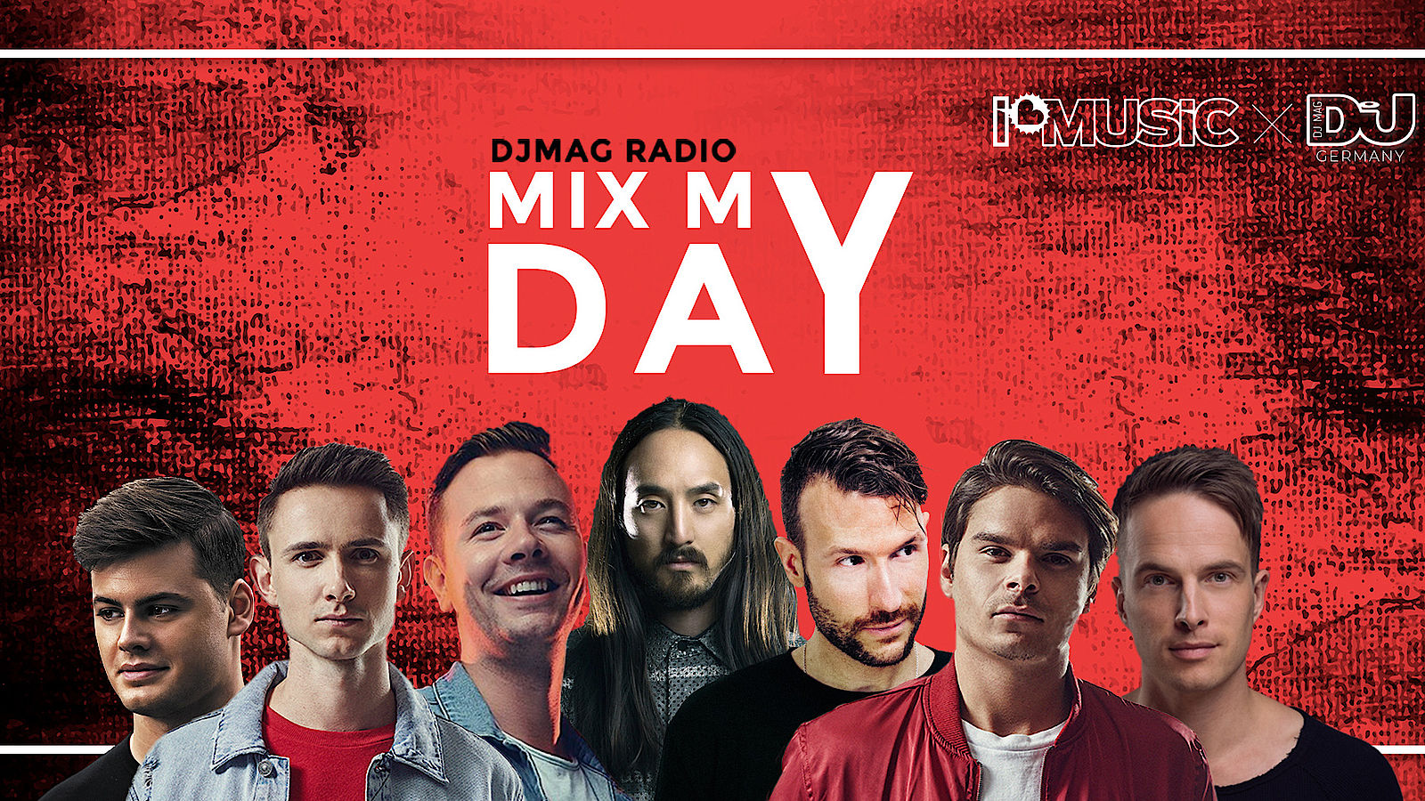 Mix My Day – Hör deine Lieblings DJs mit ihren Sets im Marathon