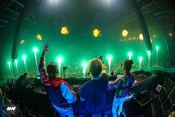 David Guetta, Dimitri Vegas und Like Mike