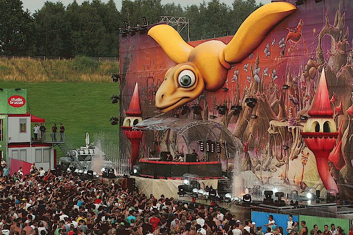 Tomorrowland Mainstage 2008
