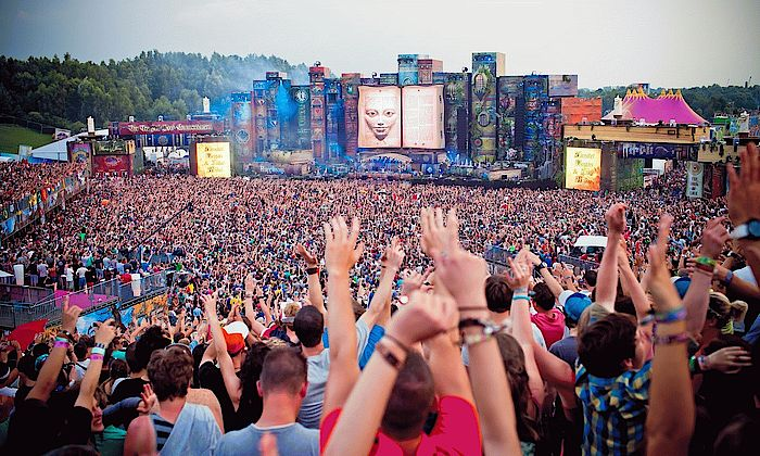 Tomorrowland Mainstage 2012