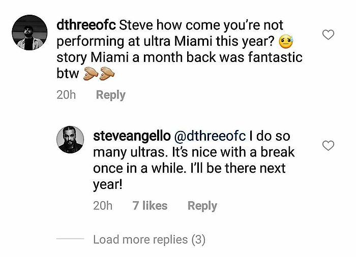 Steve Angello Tweet