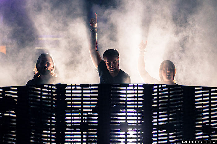 Die Swedish House Mafia in ihrem Element