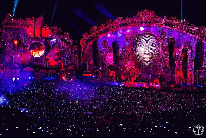Tomorrowland Mainstage 2014